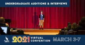 Undergraduate Auditions & Interviews